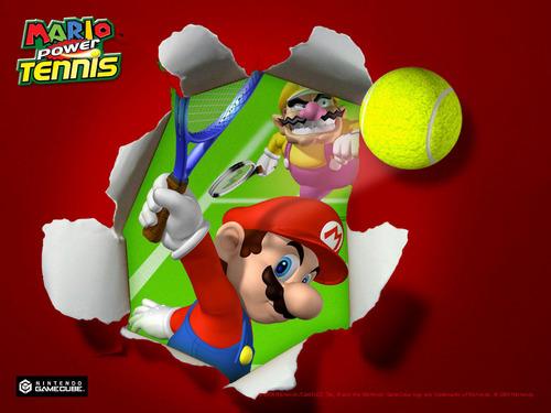 Mario quần vợt