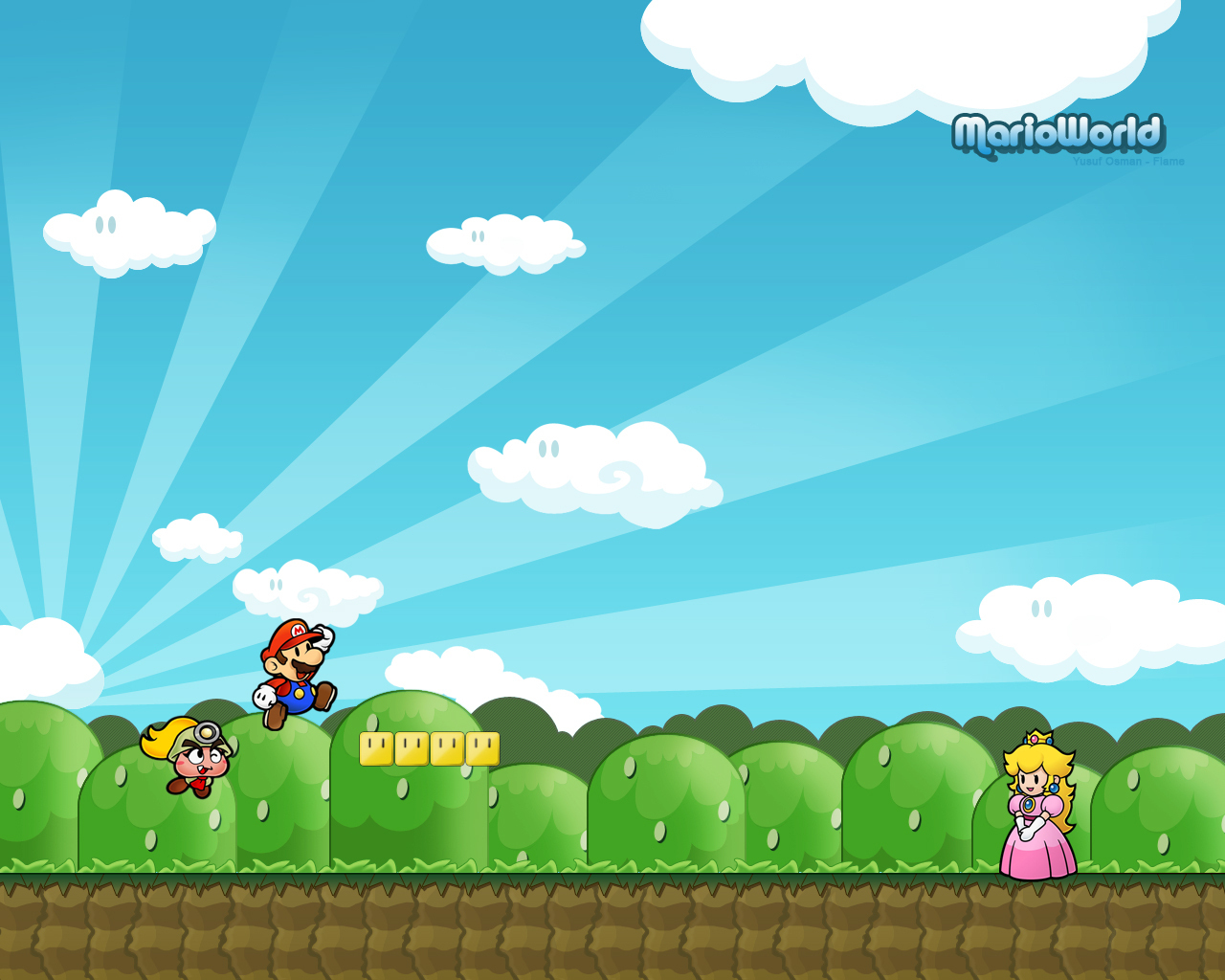 Kleurplaten Mario En Sonic.Super Mario Bros Images Mario Wallpaper Hd Wallpaper And Background