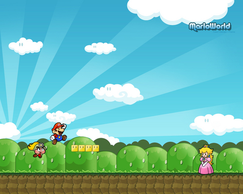 super mario bros wallpaper titled Mario wallpaper