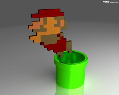 Mario 바탕화면