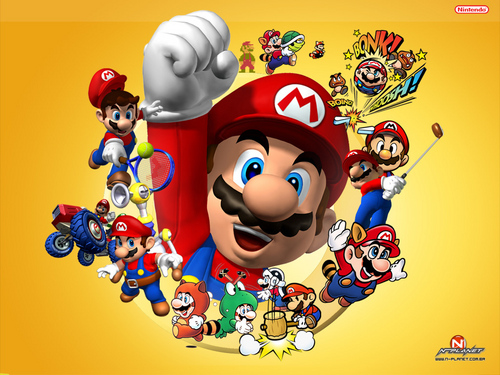 Super Mario Bros. wallpaper titled Mario Wallpaper