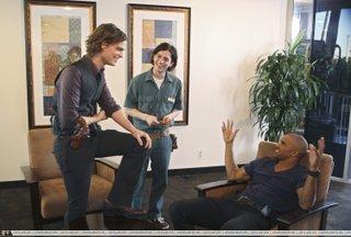 Matthew, Shemar and Jackson Rathbone