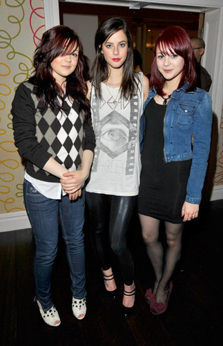 "Megan Prescott, Kaya Scodelario and Kathryn Prescott - ""I pag-ibig You, Man"" London VIP Screening"