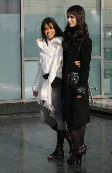 Michelle & Jordana in Russia