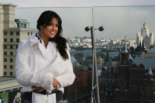 Michelle in Russia