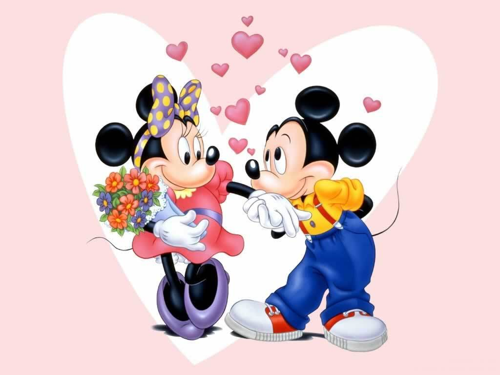 Mickey And Minnie Fond D écran Mickey Et Minnie Fond D