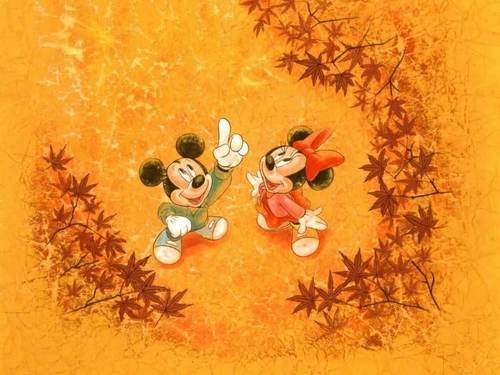 Mickey and Minnie پیپر وال