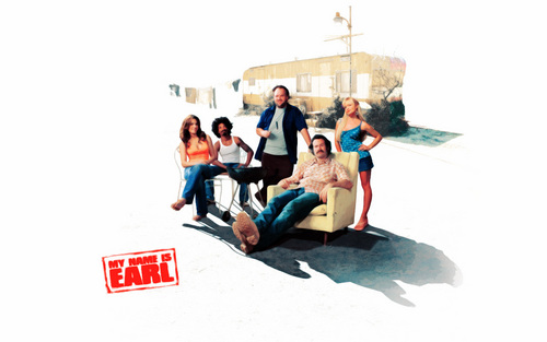 My Name is Earl wallpaper probably containing a living room, a family room, and a drawing room entitled My name is Earl