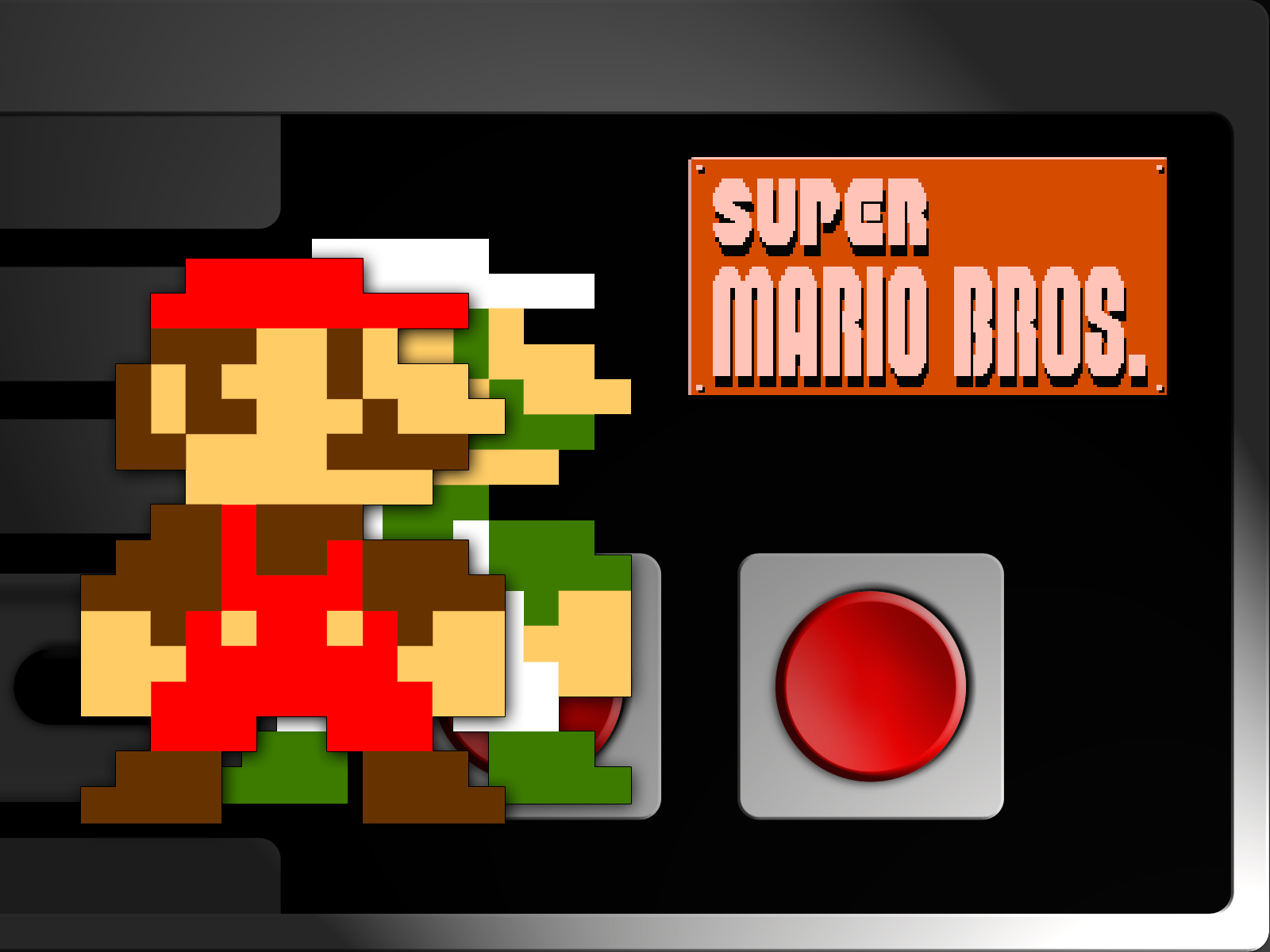Behang Mario Bros ~ Super Mario Bros images NES Classics Mario Bros HD wallpaper and background photos (5430