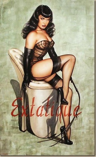 Olivia does Bettie Page - pin-up-girls Photo