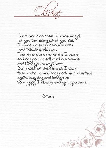 Olivines *spoiler
