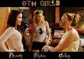 One Tree Hill girls: Brooke, Peyton, Haley