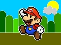 Paper Mario karatasi la kupamba ukuta