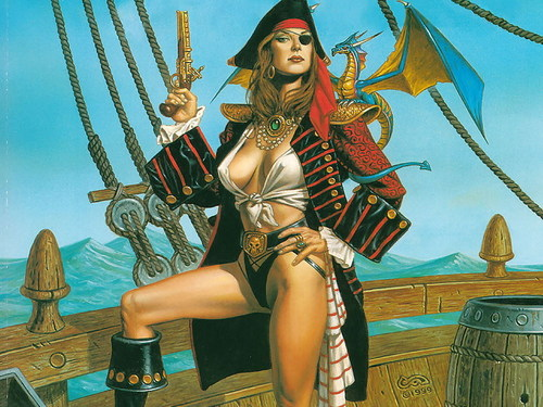 Pin-Up Pirate