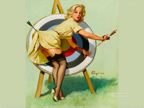 Pin-Up Wallpaper