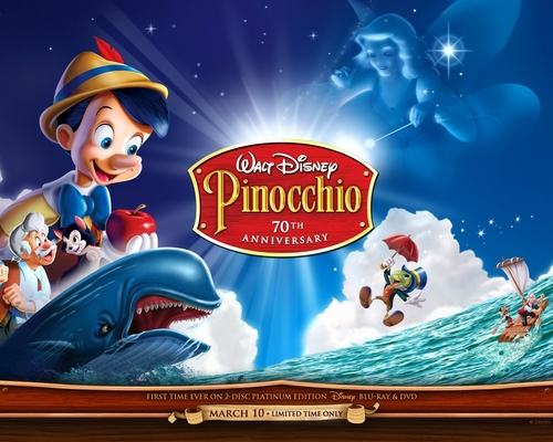 Classic Disney hình nền probably containing anime called Pinocchio
