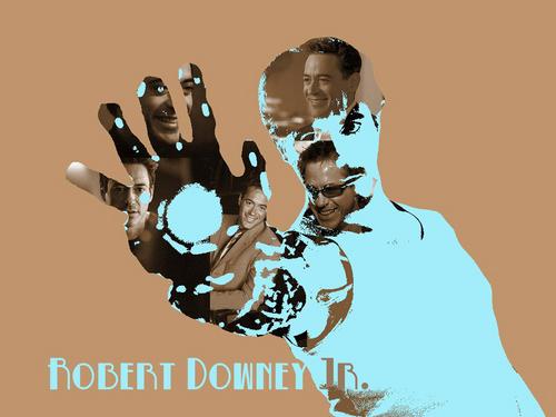 Роберт Дауни-младший Обои called RDJ