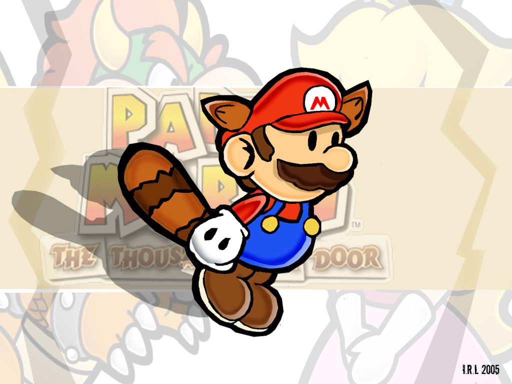 Raccoon Mario