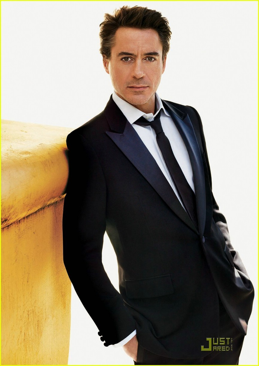 hottest actor 40 robert downey jr