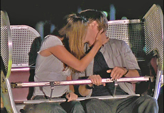 Ryan and Marissa's First kiss