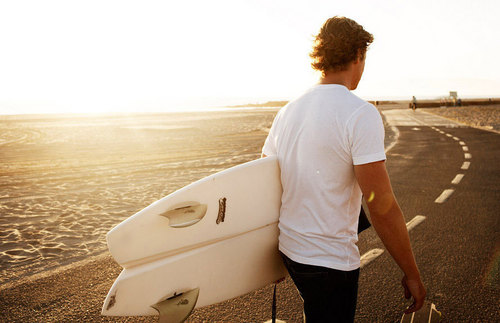 SImon Baker Beach Photoshoot :) - simon-baker Photo