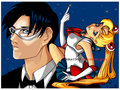 Sailor Moon & Tuxeedo Kamen