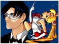 Sailor Moon & Tuxeedo Kamen