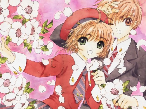 Sakura Cardcaptors wallpaper titled Sakura and Syaoran