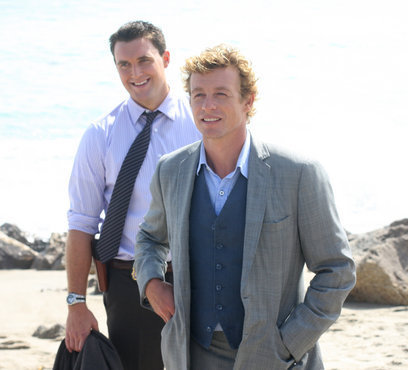 Simon Baker from The Mentalist
