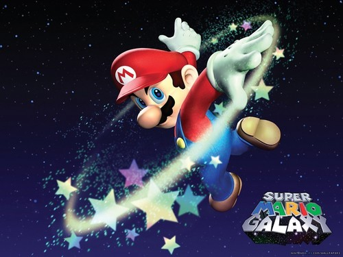 super mario bros wallpaper called Super Mario Galaxy wallpaper