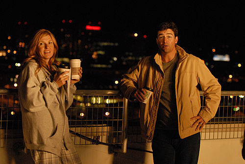 Friday Night Lights wallpaper containing a well dressed person and a business suit entitled Tami & Eric