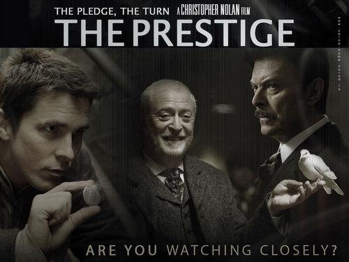 The Prestige karatasi la kupamba ukuta