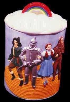 The Wizard of Oz Cookie Barrel