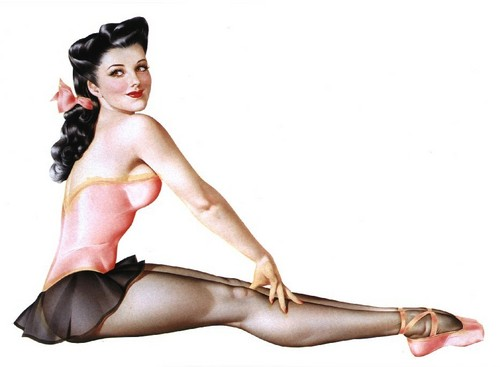 Pin Up Girls wallpaper entitled Vargas Pin-Up