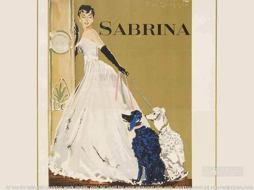 Sabrina (1954) wallpaper titled Vintage Sabrina
