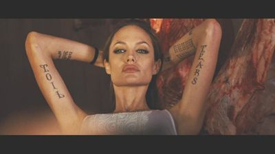 Angelina jolie nude shot in wanted
