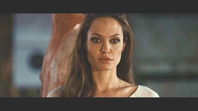 Angelina Jolie wallpaper with a portrait titled Wanted Screencaps.