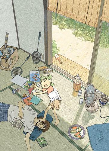 Yotsuba&! Cover প্রতিমূর্তি