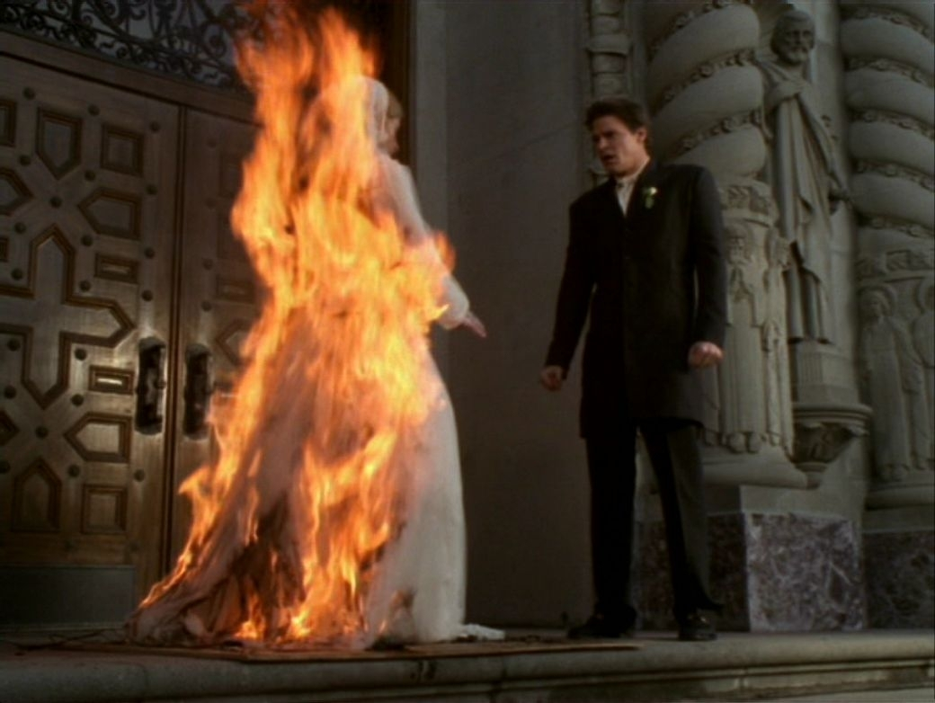 Was buffy really dating the immortal
