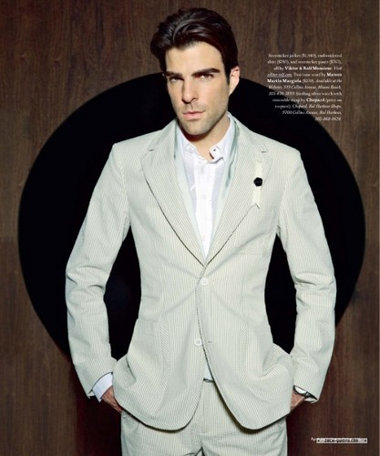 Zachary Quinto wallpaper containing a suit, a business suit, and a well dressed person titled zach