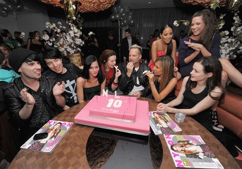 Nylon Magazine Hosts 10th Anniversary Celebration