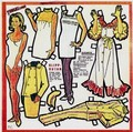 1960s Bewitched Paper Doll Set