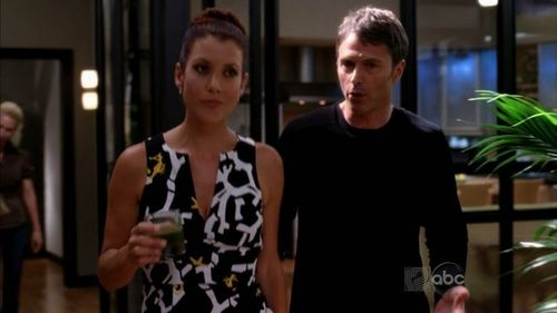 Addison and Pete wallpaper probably containing a portrait called 2.06 Serving two masters
