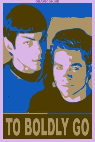 2 boldly go poster