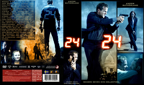 24 Season 7 DVD art