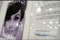 A Contract signed by Audrey for 'How to Steal a Million' - audrey-hepburn photo