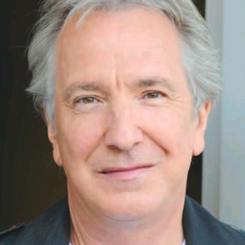 Alan Rickman karatasi la kupamba ukuta with a portrait titled Alan Rickman in Barcelona