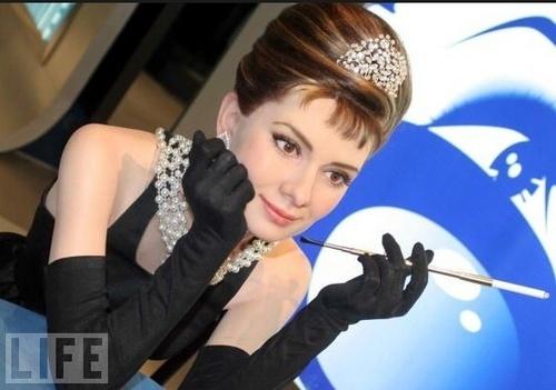Audrey Madame Tussauds Wax Statue