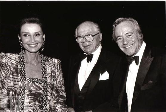 Audrey and Billy Wilder
