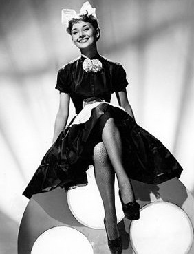 Audrey in Laughter in Paradise